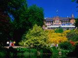 Sofiero Castle  Former King Gustav VI Adolf's Summer Residence  Helsingborg  Skane  Sweden