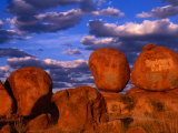 Devil's Marbles Near Tennant Creek  Devil's Marbles Conservation Reserve  Australia
