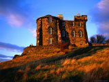 Exterior of City Observatory on Calton Hill  Edinburgh  United Kingdom