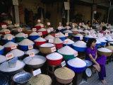 Grain  Seed and Pulse Stall at Ho Chih Minh Market  Ho Chi Minh City  Vietnam