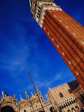 Bell Tower at San Marco  Venice  Italy