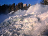 Rhinefall (Rhine Waterfall) at Laufen  Switzerland