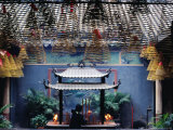 Kuan Iam Temple (Kwan Yin) Built for the Buddhist Goddess of Mercy  Central Macau  Macau  China
