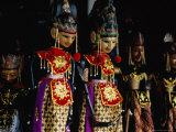 Wayang Golek Puppets for Sale at Jalan Surabaya Antique Market  Jakarta  Indonesia