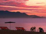 Sunrise Over Nha Trang Beach  Nha Trang  Khanh Hoa  Vietnam