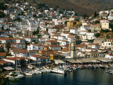Waterfront and Town  Greece