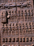 Detail of a Dogon Granary Door  Tirelli  Mali