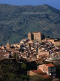 Castelbuono Hilltop Village  Italy