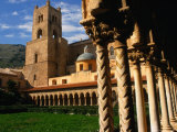 Duomo Cloister  Monreale  Italy
