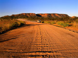 The Sealed Ross Highway Near the Historic Settlement of Arltunga  Northern Territory  Australia