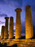 Valley of Temples at Temple of Hercules  Agrigento  Italy