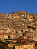 Townscape on Monte Marone  Gangi  Italy