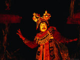 Dancer Performing Topeng Dance  Sanur  Bali  Indonesia
