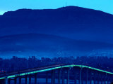 Tasman Bridge Over Derwent River  Hobart  Australia
