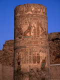 Remains of the Temple of Kom Ombo  Egypt