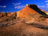 Mesa-Like Formation at the Painted Desert(Arckaringa Hills)  South Australia  Australia