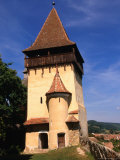 Defence Tower of Fortified Church of Biertan  Biertan  Sibiu  Romania