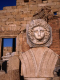 The head of Medusa and Nereid surround the entire Severan Forum - Leptis Magna  Tripolitania