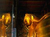 Reclining Buddha at Wat Pho  Bangkok  Thailand