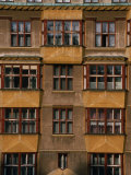 Apartment Building on Upper Parizska Street  Prague  Czech Republic
