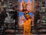 Young Girl at Temple Ceremony in Sengkidu  Indonesia