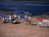 Metal Wire Bicycles and Toys for Sale on City Streets  Maputo  Mozambique