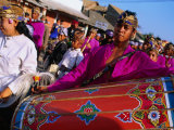 Wedding Musicians on Parade in Selong  Indonesia