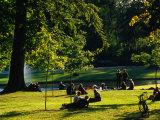 Frederiksberg Palace Gardens  Copenhagen  Denmark
