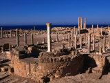 The Forum of Sabratha  an Nuqat Al Khams  Libya