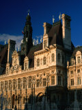 Exterior of Hotel De Ville  Paris  France