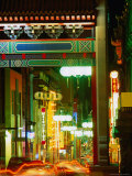 Chinatown at Night  Melbourne  Australia