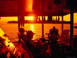 Tourists on Safari Boat  Maldives