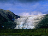 The Landlocked Exit Glacier  Kenai Fjords National Park  USA