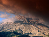 Clouds Over Windy Ridge  Mt St Helens  USA