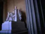 Lincoln Memorial Statue  Washington Dc  USA