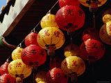 Chinese Lanterns at Kek Lok Si Temple  Georgetown  Penang  Malaysia
