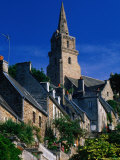 Church of Brelevenez Built by the Knights Templar in the 12th Century  Brittany  France
