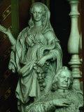 Sepulchral Monument to Bishop Jb De Castillon in Cathedral St Salvator  Bruges  Belgium