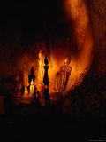 Standing Buddha Statues at Tham Phum Caves  Pak Ou Caves (Mouth of the Ou)  Luang Prabang  Laos