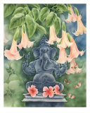 Ganesh With Daturas