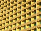 Sunlit Balconies of the Beijing Hotel on Dongchang'An Jie  Beijing  China