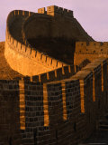 Great Wall of China at Sunset  Badaling  China