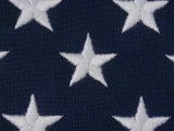 An Exteme Close-up of the Stars on an American Flag