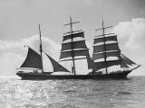 The Windjammer Penang Sailing in the English Channel  1935