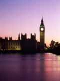 Big Ben at Dusk in London  England