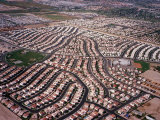 An Aerial View of the Residential Area of Las Vegas  October 2000