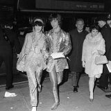 Eric Clapton of the Progressive Rock Group Cream at the Premier of How I Won the War  October 1967