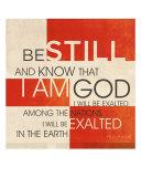 Psalm 46:10 III