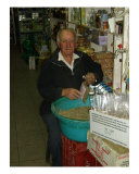 The Spice Man At Heraklion Open-Air Market