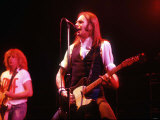 Francis Rossi Playing at the Hammersmiths Odeon with His Band Status Quo